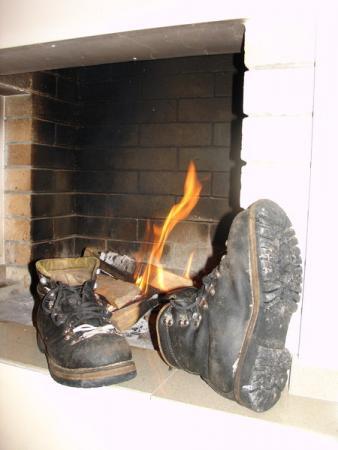 """Ботинки, запеченые """"по-домашнему"""""""
