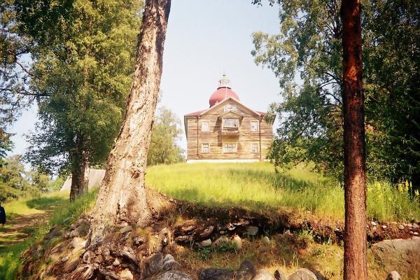 Анзер,монастырь