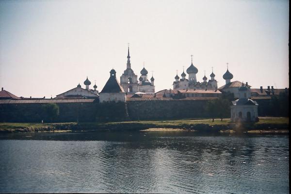 Соловецкий монастырь, вид с Белого моря