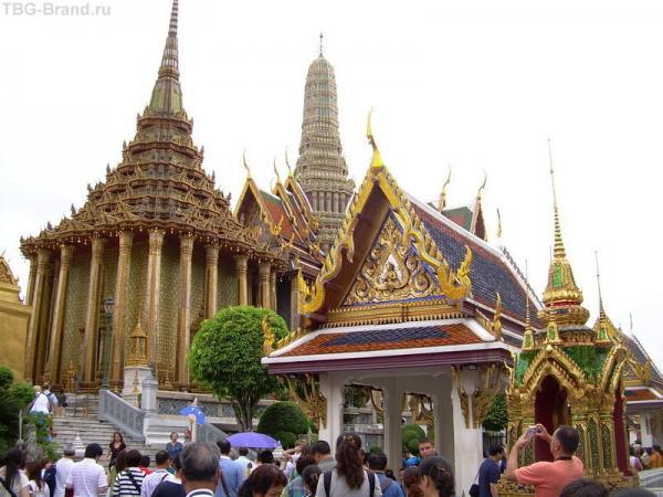 Комплекс зданий королевского дворца в Бангкоке