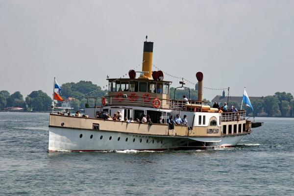 Кораблик на Херренкимзее