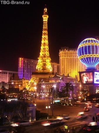 Лас Вегас.Казино Париж.