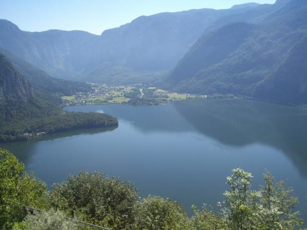 Горное озеро Хальшатт