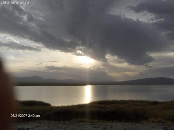 То самое озеро
