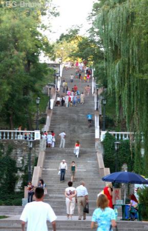 Старинная лестница к морю