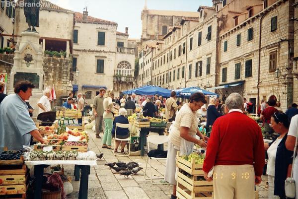 Местный рынок, расположен почти в центре старого города