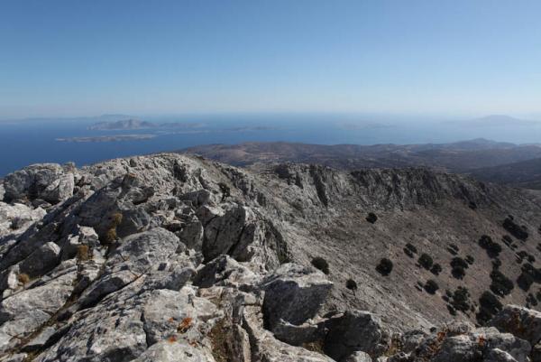вид с горы Зевс