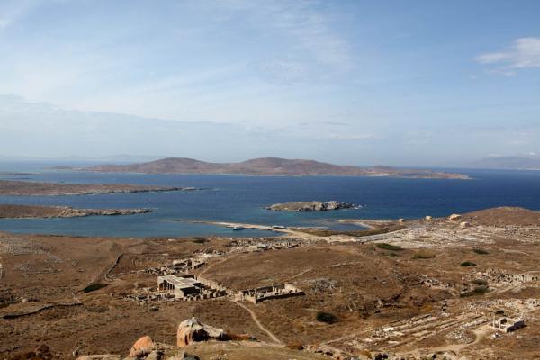 вид со святилища Зевса на весь остров-1