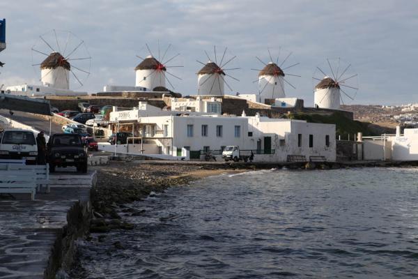 мельницы на острове Миконос - визитьная карточка острова