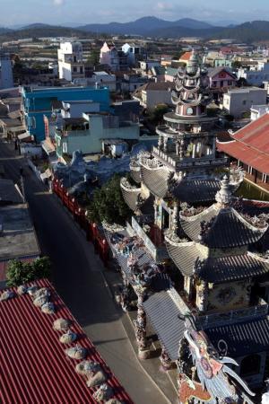 пагода около Далата