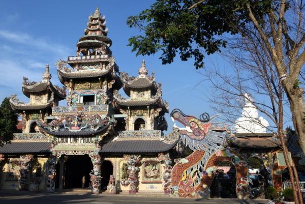 пагода в Далате