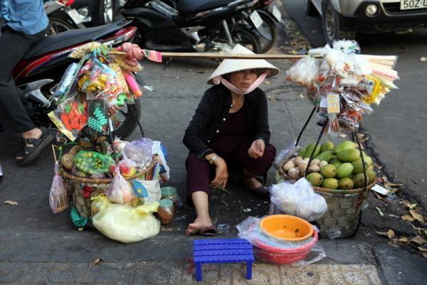 вьетнамские продавщицы