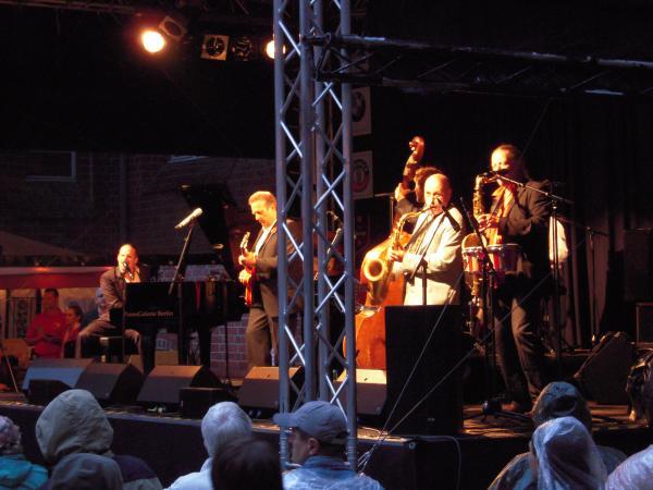 Участник джазового фестиваля - Ulf Sandström и его группа