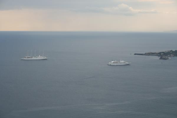Вид на море из Таормины
