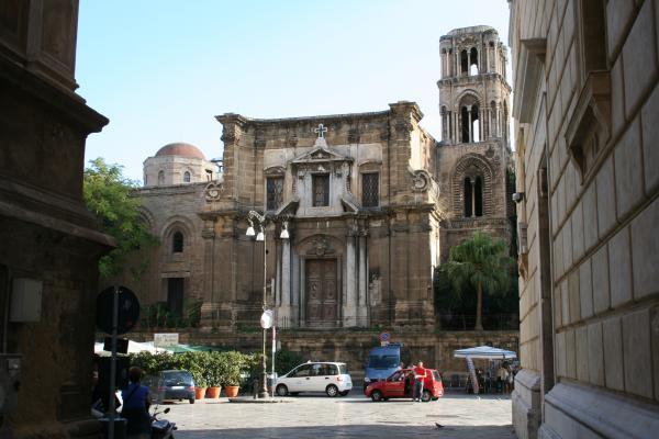 Палермо, Марторана (Санта-Мария-дель-Аммиральо, Сан-Никола-дель-Гречи)Палермо