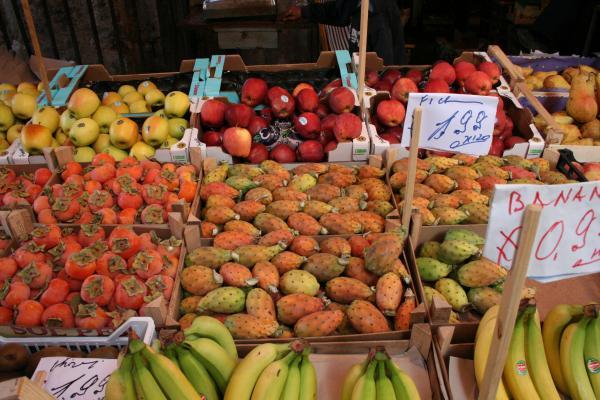 Палермо, рынок