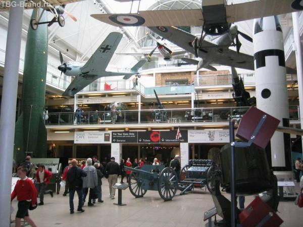Imperial War Museum внутри