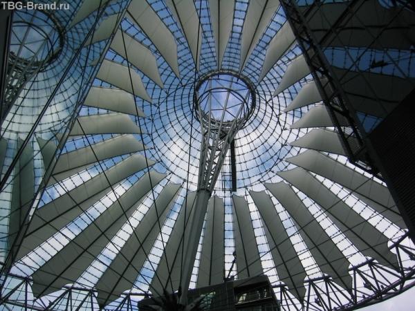 крыша SONY Center