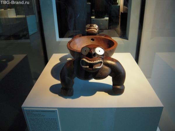 Экспонат из Полинезии, Musee du quai Branly