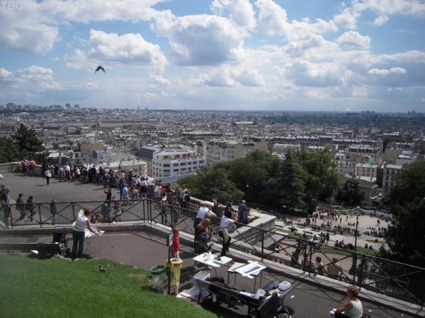 Вид с Монмартрского холма
