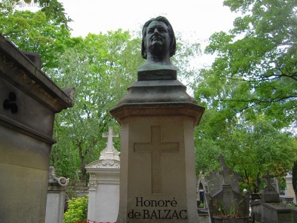 Могила Бальзака