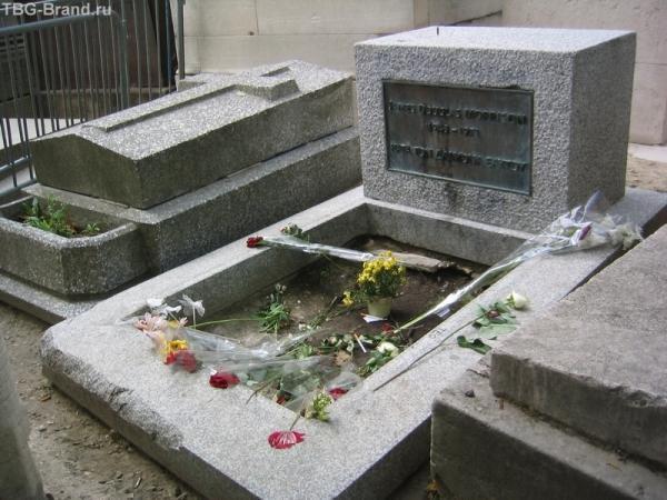 могила Джима Моррисона