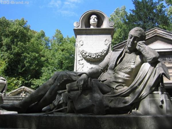 На кладбище Пер-Лашез