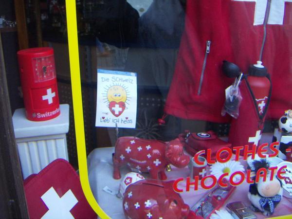 Швейцарские сувениры