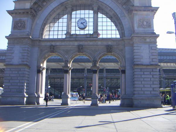 Люцерн, вокзал