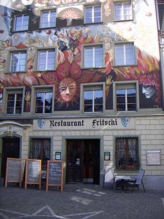 Люцерн, ресторан