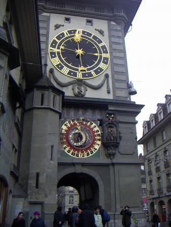 Берн, Главные часы Швейцарии