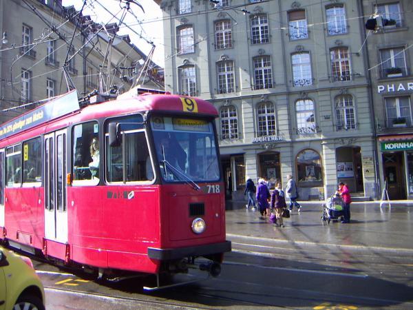 Берн, трамвай