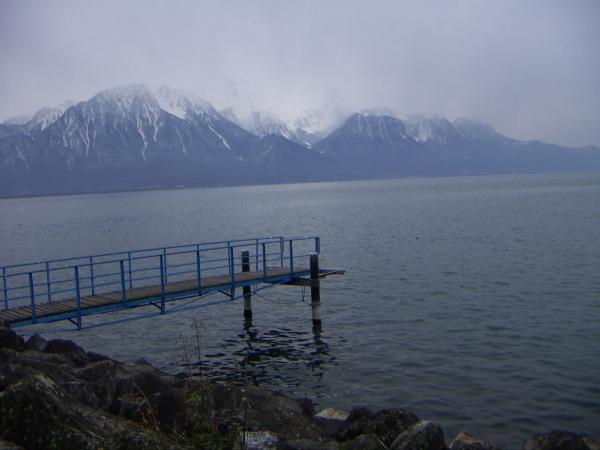 На берегу Женевского озера