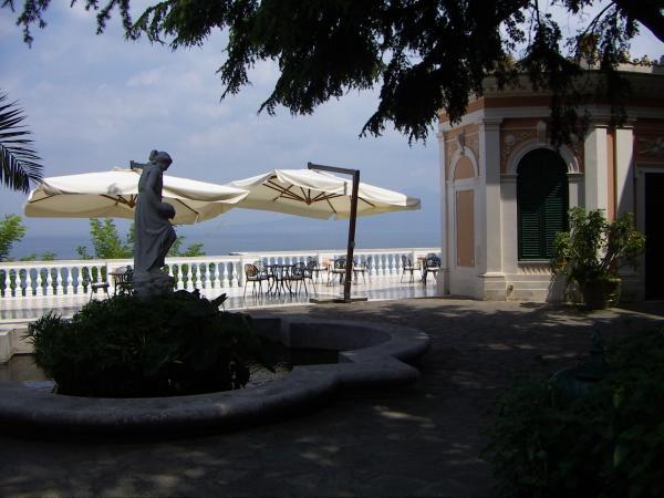 Парк Parco dei Princhipi -Вилла