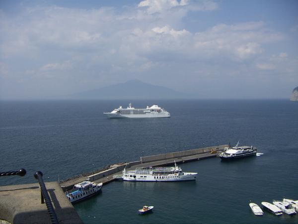 Вид на Неаполитанский залив