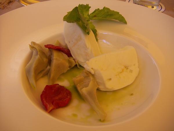 CAPRI PALACE - авторская кухня - артишоки