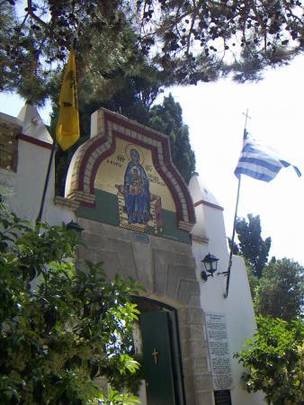 Ворота монастыря Палеокастриса