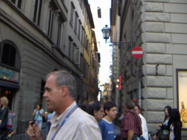 Узкие улицы Флоренции