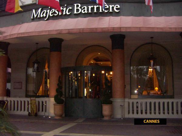 Канн, вход отеля Majestic