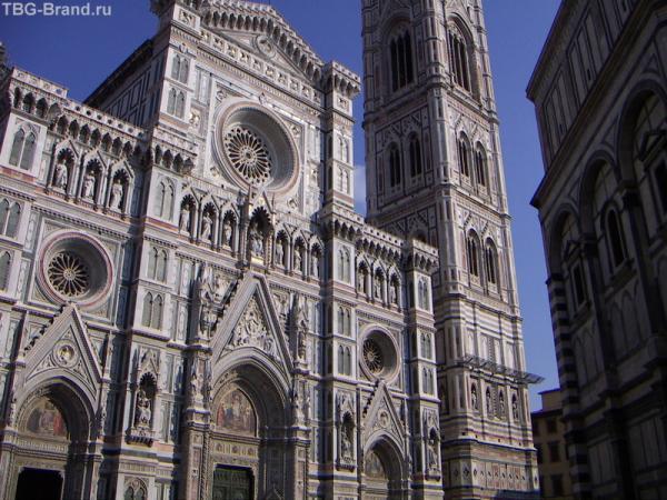 Флоренция. Еще собор, уж очень красив...