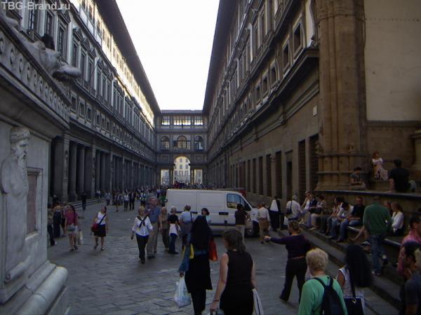 Флоренция. Галерея Уфицци