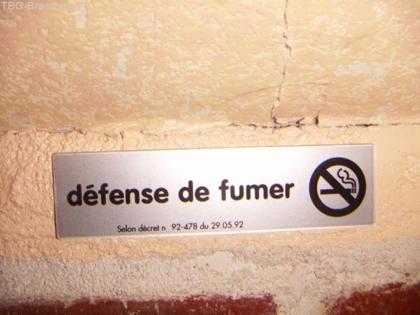 в отеле не курят