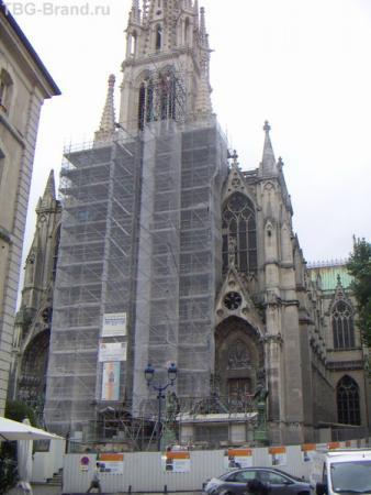 собор, как жаль, что ремонт...