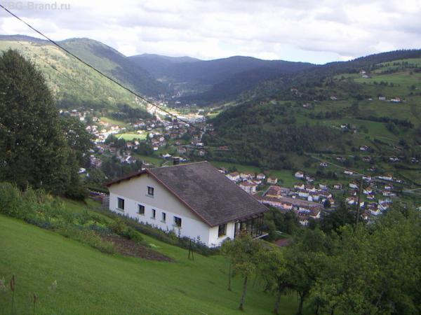 вид сверху на Le Bresse