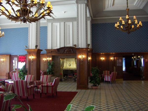 Club Med - холл утром