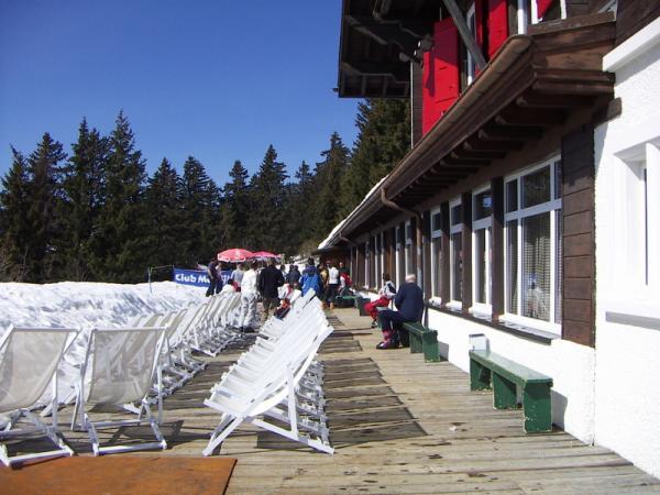 Ресторан в горах