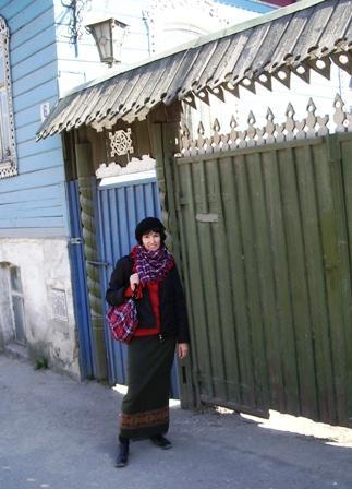 Это я на одной из улиц Боровска :)