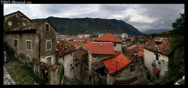Панорама старого Котора