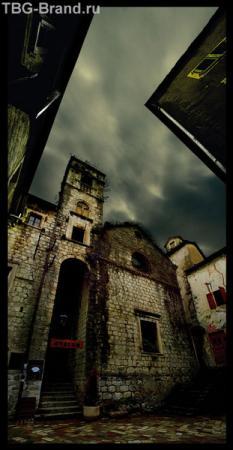развалины в старом Которе