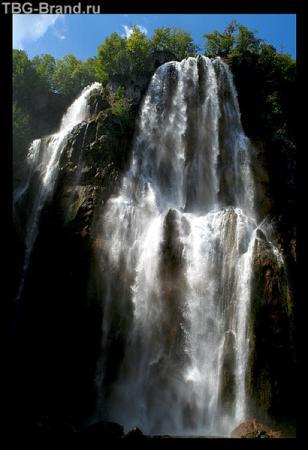 водопад на Плитвицах